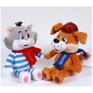 Набор из 2-х мягких игрушек «МУЛЬТИ-ПУЛЬТИ»