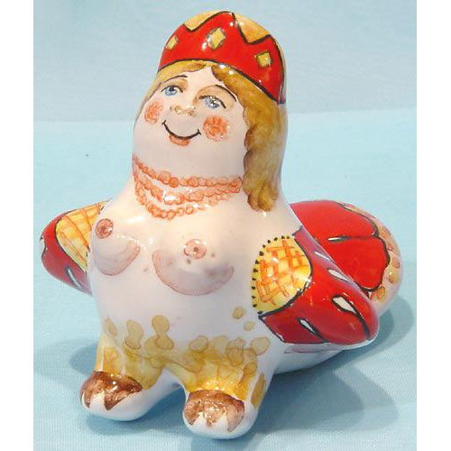 Елочная игрушка Сирин