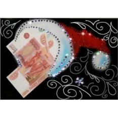Картина с кристаллами Сваровски Шапка желаний