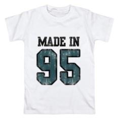 Мужская футболка из хлопка Made in 95