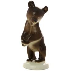 Фарфоровая скульптура Медвежонок стоящий