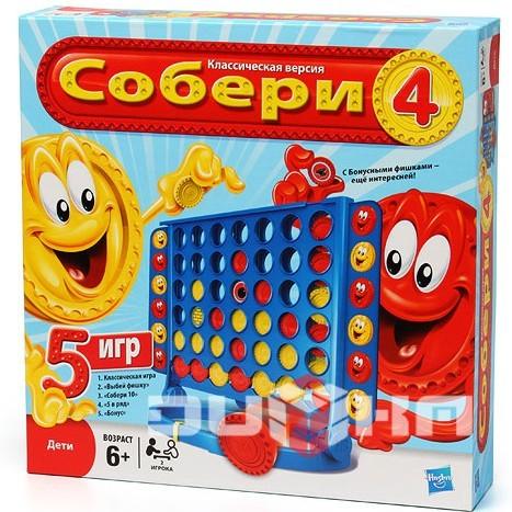 Настольная игра Собери 4