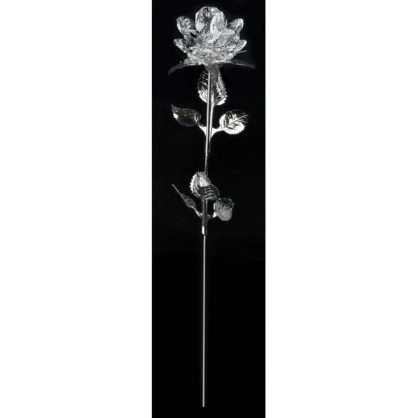 Роза с хрустальным бутоном