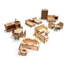 Набор мебели для домиков Базовый