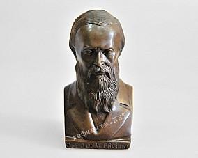 Бронзовый бюст Достоевского