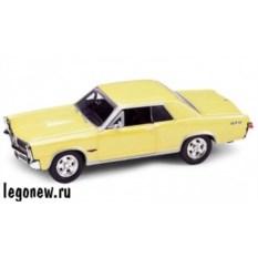 Модель винтажной машины Welly1:34-39 Pontiac GTO 1965