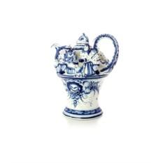 Заварочный керамический чайник Моя семья (Гжель)