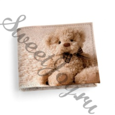 Кожаная обложка для студенческого Bear