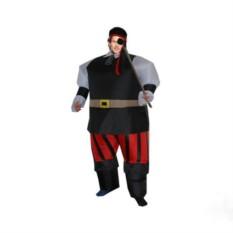 Надувной карнавальный костюм Пират