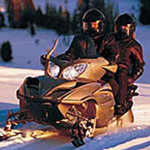 Снегоход для двоих