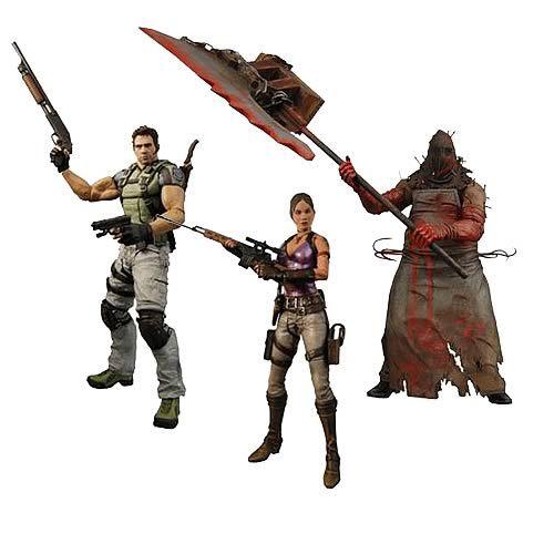 Набор фигурок Resident Evil