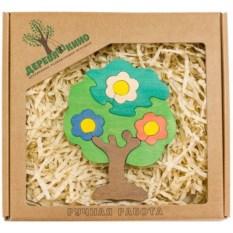 Развивающая игрушка Дерево в цветах