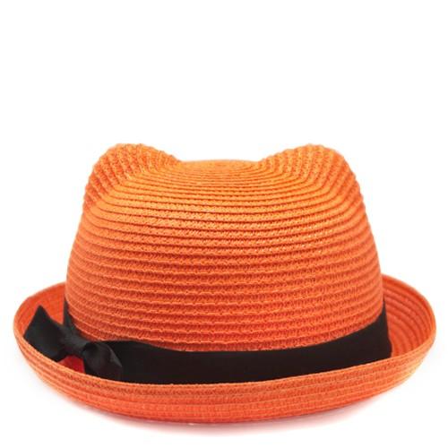 Шляпа Cat ears (оранжевая)