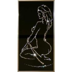 Картина с кристаллами Swarovski В ночи