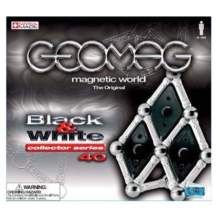 Магнитный конструктор Black and White 40