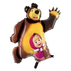 Шар Маша и Медведь (102 см)