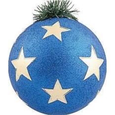 Новогоднее украшение Шар со звездами