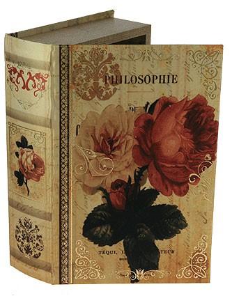 Шкатулка-фолиант Философия цветов