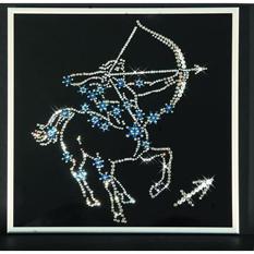 Картина из кристаллов Swarovski «Звёздный стрелец»