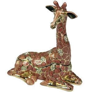 Шкатулка со стразами «Жираф»