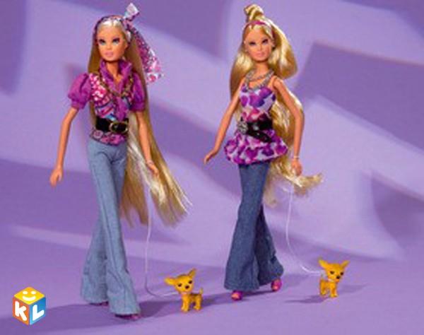 Кукла Штеффи-пурпурная супермодель с аксессуарами