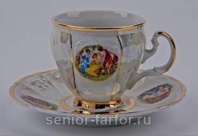 Набор для чая Bernadotte (Бернадот Мадонна) на 6 персон