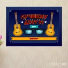 Постер на стену Гитары