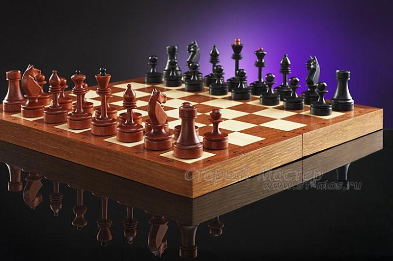 Шахматы «Пражские мотивы» ретро