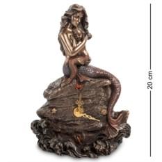 Часы Русалка и дитя (цвет — бронзовый)