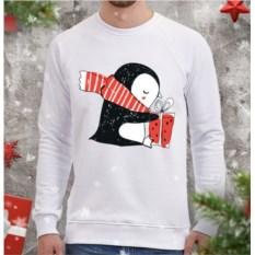 Мужской свитшот Пингви с подарком