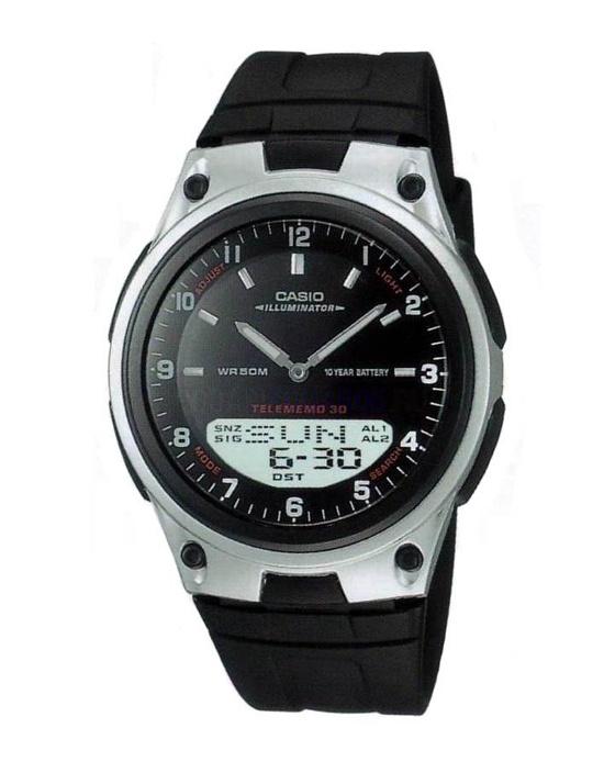 Мужские наручные часы Casio Combination AW-80-1A