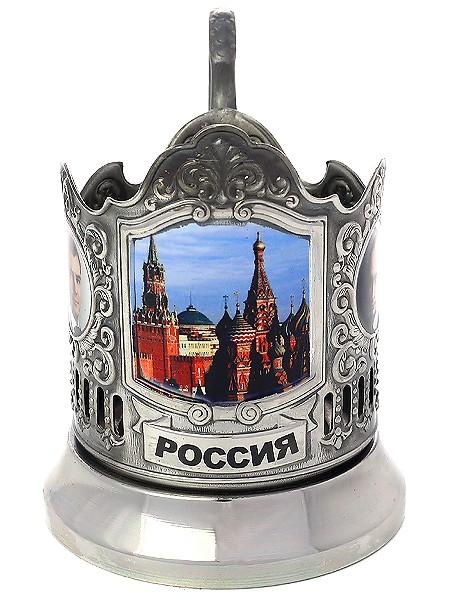 Подстаканник Красная площадь. Кремль Кольчугино