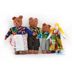 Шагающий театр с домиком «Три медведя»