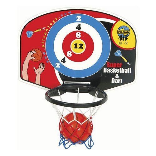Игровой набор Баскетбол + Настенный дартс Pilsan