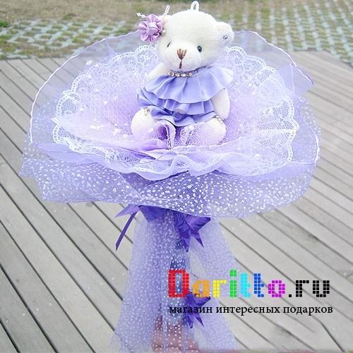 Букет из игрушек Фиолет