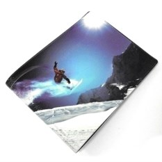 Обложка на зачетку Сноубордист
