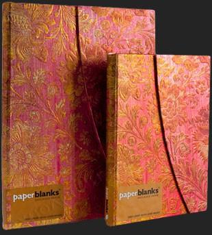 Записная книга Paperblanks Золотая фуксия