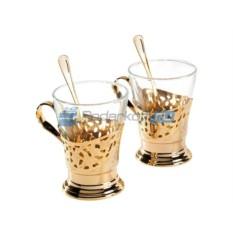 Чайный набор на 6 персон Чайное золото