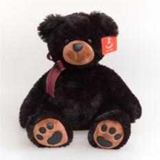 Мягкая игрушка Aurora Медведь чёрный