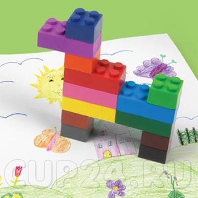 Восковые мелки Лего Stack-a-doodle