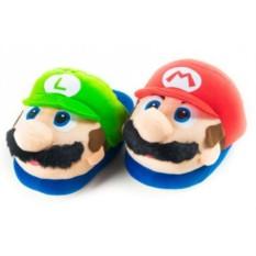 Тапочки Марио и Луиджи