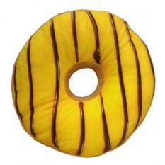 Подушка Пончик с лимонной глазурью