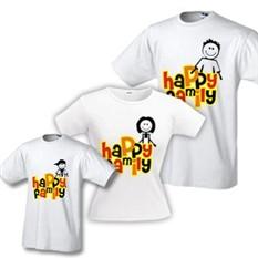 Футболки для семьи Happy Family