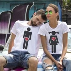 Парные футболки Разные мы