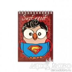 Блокнот с совой Супергуф от Goofi