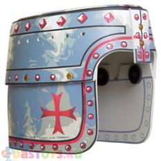 Детский рыцарский шлем рыцаря мальтийского ордена