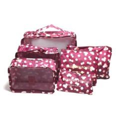 Набор из 6 органайзеров для багажа