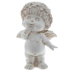 Декоративная фигурка для сада Ангел, высота 14,5 см