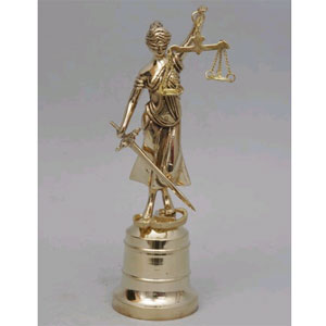 Статуэтка из бронзы Virtus «Правосудие»