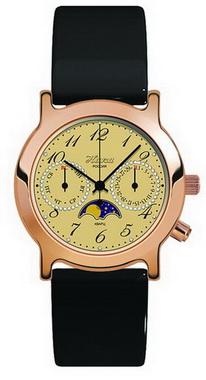 Женские  золотые  часы НИКА - «Лунник»